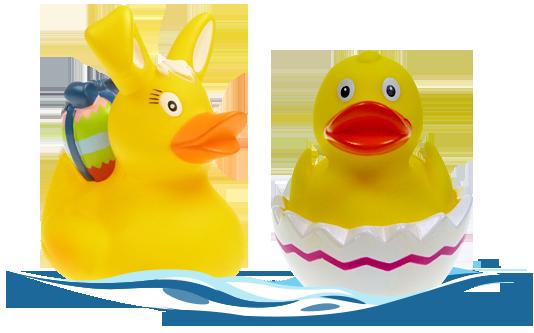 Hermine Hase und Evi Ei