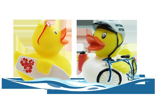 Sportenten Jim Surfer und Leo Lenker